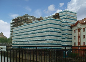 Scaffold Cladding and Sheeting